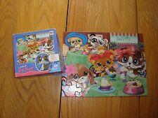 """Littlest Pet Shop Puzzle 2007 Hasbro 24 pcs 10"""" x 13"""" 3+ years NO PET"""