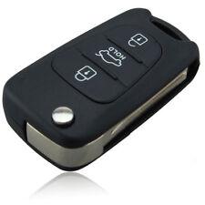 KIA Remote Flip Key Shell 3 BUTTON For KIA SORENTO SPORTAGE CERATO RIO Replaceme