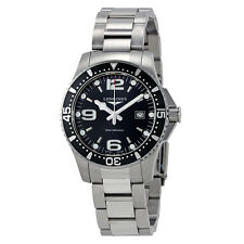Longines HydroConquest Black Dial Mens Watch L3.730.4.56.6