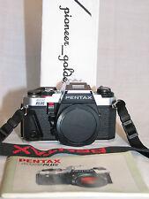 PENTAX PROGRAM PLUS 35mm SLR CAMERA w/PENTAX ORIGINAL MANUAL,strap