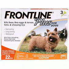 Frontline Plus Flea Treatment for Dogs & puppies upto 22lbs: 3 dose