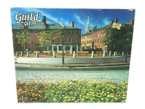 NIB Vintage Golden Guild 750 Piece Puzzle Newburyport MA 4661-32 SEALED BOX