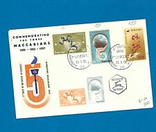 1957 Israel - Maccabi Games commemorative postal cover