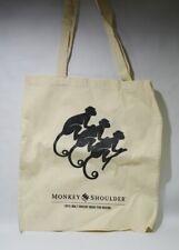 MONKEY SHOULDER Whisky sac shopping tissu 41 x 37 cm NEUF