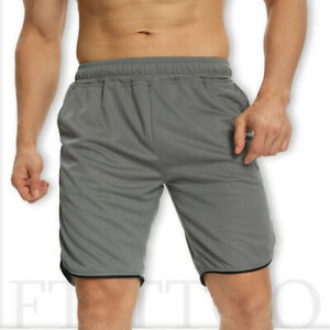 Men's Fitness Sports Shorts Football Pant Quick Dry Gym Workout Training Running