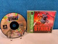Soviet Strike - Greatest Hits (Sony PlayStation 1, 1996) with Manual - Tested