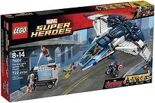 Retired LEGO Marvel Set 76032 The Avengers Quinjet City Chase New Factory Sealed