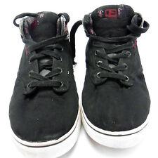 Globe Mens Motley Mid Black RIP Skateboard Shoes Size 9.5