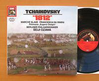 EL 27 0237 1 Tchaikovsky 1812 etc Seiji Ozawa Berlin Phil 1985 EMI Digital NM/EX