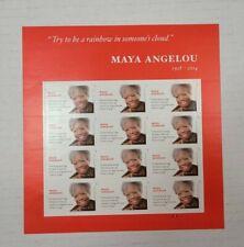 Maya Angelou 2016 / #4979 / Forever Stamps Sheet of MNH