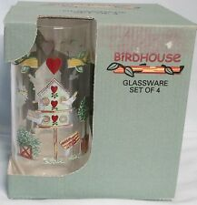 Thomson Bird House Boxed set of 4 tumblers
