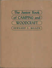 1943 The Junior Book of Camping and Woodcraft ~ vintage outdoors illustrated