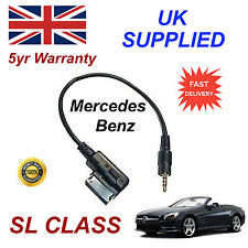 Mercedes Benz SL CLASS A0018279204 3.5mm jack MP3 iPod cable replacement