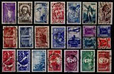 L'ANNÉE 1936 (sauf 321) Oblitérés = Cote 109 € / Lot Timbres France 309 à 333