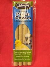 Sanded Perch Covers 4 x 7.5 Inch Healthy Claws Johnsons Budgie Canary Finch