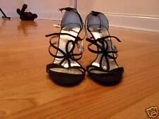Colin Staurt Flower Sandals w/ heels 6 1'2
