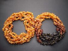 Lot 10 Natural Raw Baltic Amber Baby Necklace 30-33cm