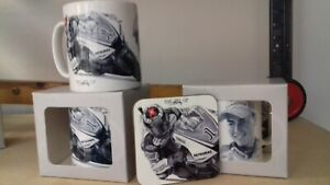 JORGE LORENZO EX SPANISH WORLD MOTO GP CHAMPION  mug & coaster set free post