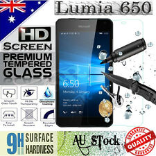 Tempered Glass / Plastic Screen Protector Film Guard For Microsoft Lumia 650