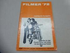 "Original DIFI Dierk Filmer `72 Katalog Prospekt ""Alles für den Florett Fahrer"""