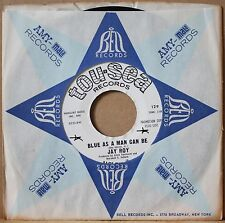 JAY ROY **Blue As A Man Can Be** WORKING FOR YOU Soul Psych 45 on TOU-SEA 129 DJ