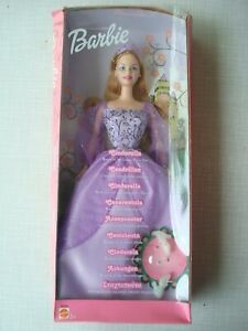 Barbie Cinderella Mattel NEU OVP Figur Puppe2002