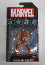 Marvel Infinite Series Herioc Age Iron Man On Card New Sealed (Bristol)