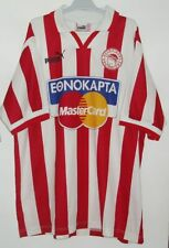 OLYMPIACOS AUTHENTIC FOOTBALL SHIRT BY UMBRO LARGE OLYMPIAKOS GREECE