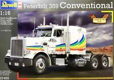 REVELL 1:16 KIT CAMION TRUCK PETERBILT 359 CONVENTIONAL LUNGHEZZA 50,7 CM  07455