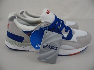 New ASICS GEL LYTE V Mens 10 - EUR 44 - Red, White & Blue Running Shoes NWT