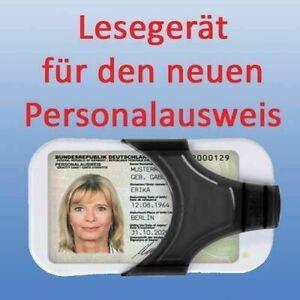 IT Sicherheitskit Personal ausweis Lesegerät & RFID NFC Chip Karten Leser SCL011