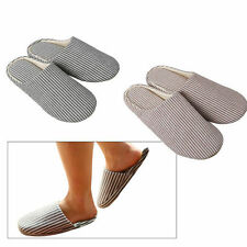 Novelty Striped Slippers for Women