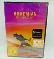 BOHEMIAN RHAPSODY  (GERMAN IMPORT REGION 2) (UK IMPORT) DVD NEW