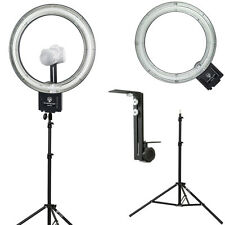 "Diva Ring Light Nova 18"" Fluorescent Ring Light w/Stand & Light Stand Z-Bracket"