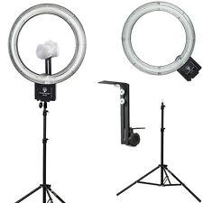 """Diva Ring Light Nova 18"""" Fluorescent Ring Light w/Stand & Light Stand Z-Bra"""