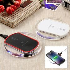 Qi Wireless Charger Fast Charging Clear Pad for LG G2 G3 G4 G Pro HTC Droid DNA