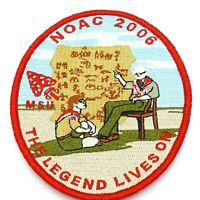 2006 NOAC MSU OA Boy Scout Patch BSA WWW   The Legend Lives On   Red Border