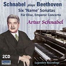 Beethoven: 6 Name Sonatas Fur Elise Emperor [New CD]