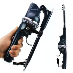 Foldable Fishing Rods With Their Own Fishing Line Portable Pocket Throwing