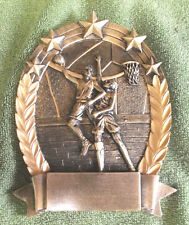 team lot of 13 male Basketball star oval resin award Marco Rop5503