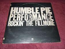Humble Pie Performance Rockin' The Fillmore Steve Marriott 1st 1971 1st Press NM