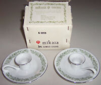 Vintage Mikasa Japan MONTCLAIRE G9059 1 Pair of Candle Holders - New!