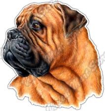 "Bullmastiff Dog Breed Hound Canine Pet Pets Car Bumper Vinyl Sticker Decal 4.6"""