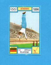 OLYMPIA-1972-PANINI-Figurina DA INCOLLARE! n.14- FLATOW - GERMANIA -Rec