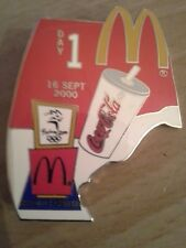 Day 1 Sydney Olympics Pin McDonalds and Coke a Cola