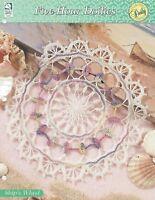 Ship's Wheel Doily Crochet Pattern - Five-Hour Doilies HOWB Series