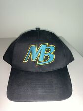 Myrtle Beach Pelicans Outdoor Cap Hat One Size Strapback Curved Brim Black NWOT