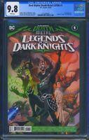 Dark Nights Death Metal Legends of the Dark Knights 1 CGC 9.8 1st app Robin King