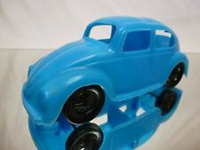 PLASTIC  VW VOLKSWAGEN BEETLE SQUARE WINDOW - BLUE  L13.0cm - GOOD PLASTIC