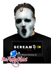 ADULT SCREAM MTV SERIES GHOSTFACE MASK Halloween Horror Fancy Dress Accessory